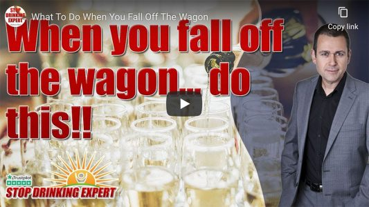 What To Do When You Fall Off The Wagon